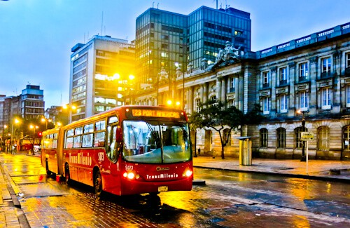 How to get around Bogota - Transmilenio