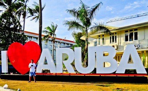 Things to do in Aruba - Aruba Sign, Oranjestad