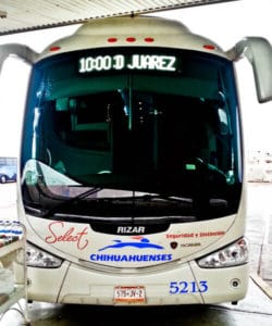 Overnight bus from Mexico City to Ciudad Juarez