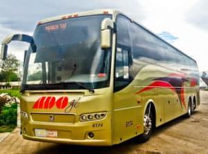 Bus from Oaxaca to Mexico City