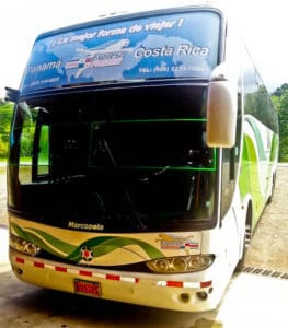 Bus from Panama to Costa Rica