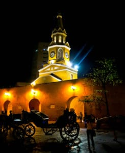 Clock Tower, Cartagena, Colombia