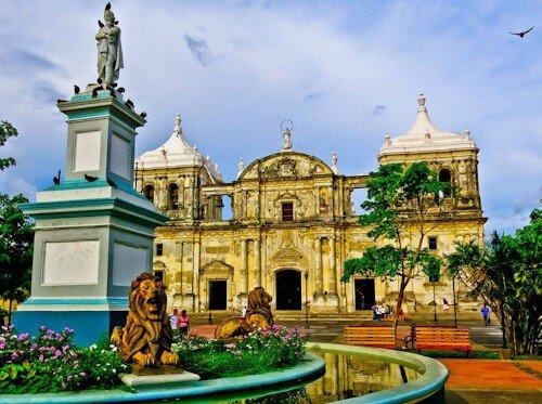Leon Nicaragua - Leon Cathedral