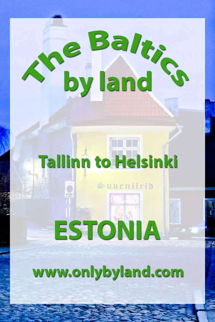 Tallinn to Helsinki