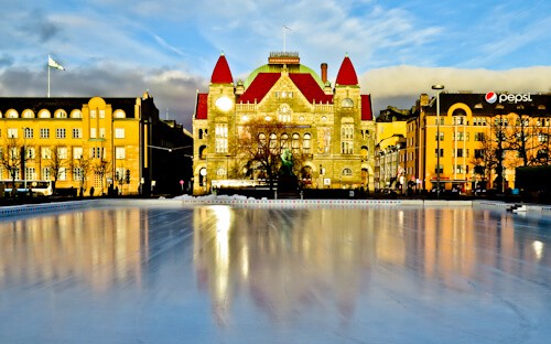 Things to do in Helsinki - National Theater, Railway Square