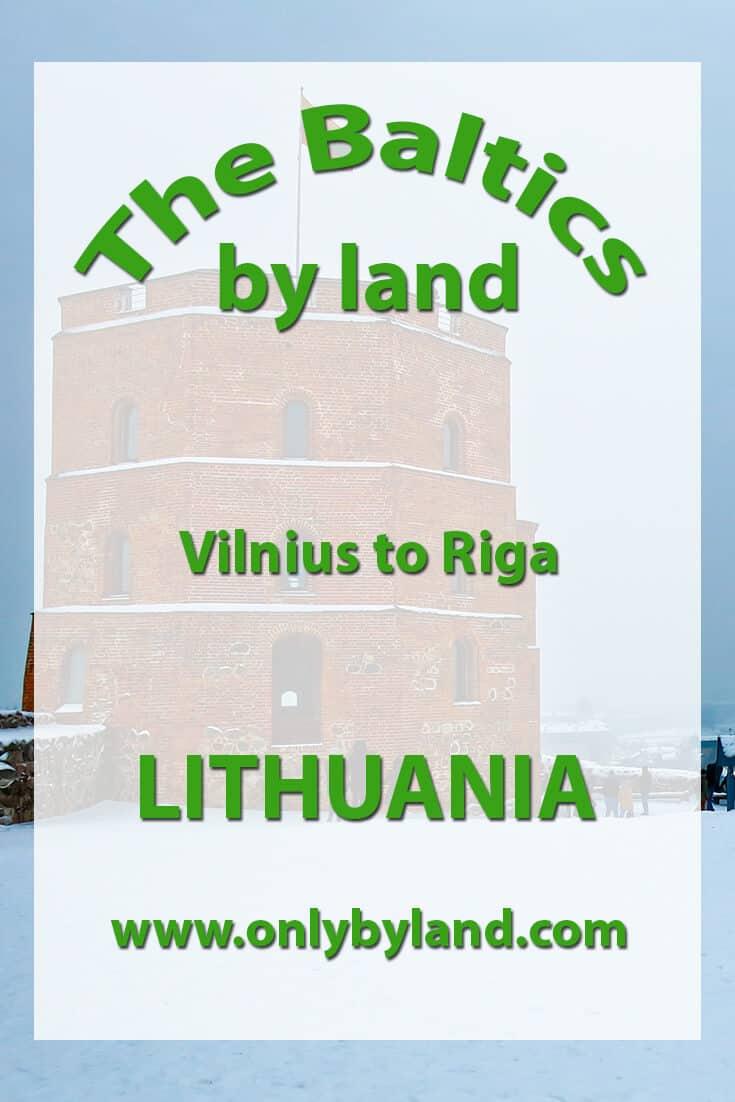 Vilnius to Riga