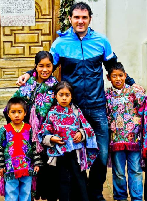 Tzotzil Maya Children, San Juan Chamula, Chiapas, Mexico