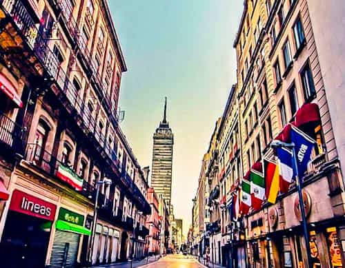 Mexico City Landmarks - Calle Madero