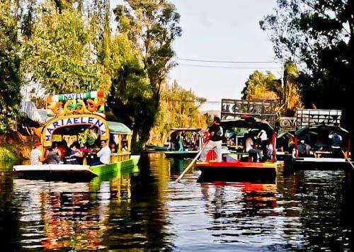 Mexico City Landmarks - Xochimilco