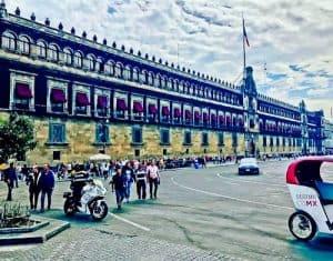Mexico City Landmarks - National Palace