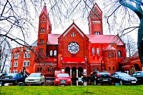 Things to do in Minsk - Red Church of Minsk
