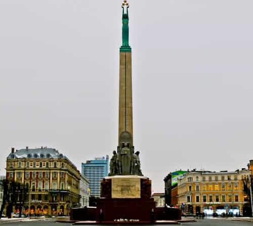 Monument of Freedom, Riga, Latvia
