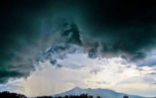 Storm in Granada, Nicaragua