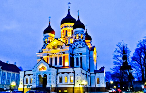 Things to do in Tallinn - Alexander Nevsky Cathedral