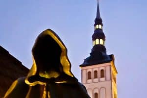 Things to do in Tallinn - grim reaper statues