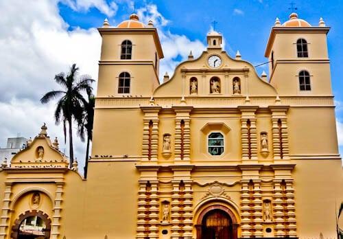 Tegucigalpa Honduras - Cathedral
