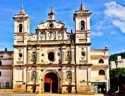 Tegucigalpa Honduras - Los Dolores Church