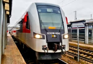 Vilnius to Minsk direct train