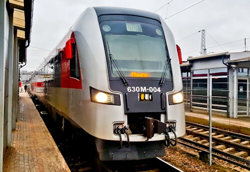 Vilnius, Lithuania to Minsk, Belarus direct train