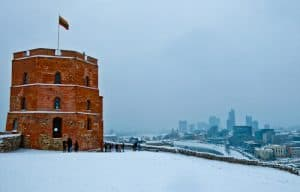 Things to in Vilnius - Castle complex and Gediminas tower