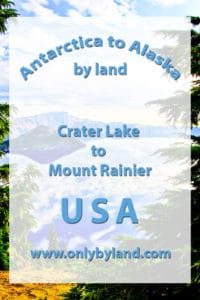 Crater Lake to Mount Rainier