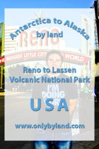 Reno to Lassen Volcanic National Park