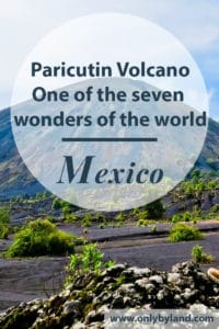 How to visit Paricutin Volcano, Michoacan on a day trip from Uruapan. Paracutin volcano is the youngest volcano in the world and one of the seven wonders of the world.