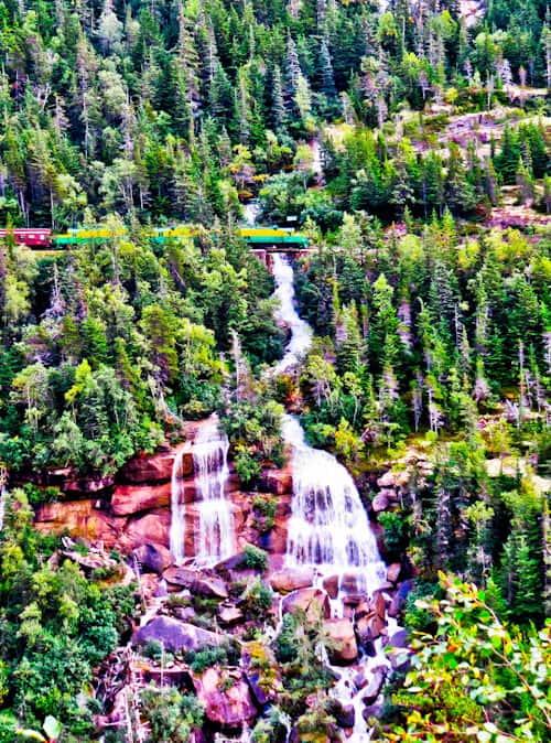 Pitchfork Falls, Skagway, Alaska