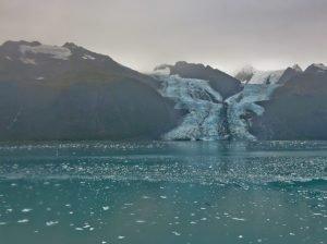 Tidewater Glacier in College Fjord, Alaska