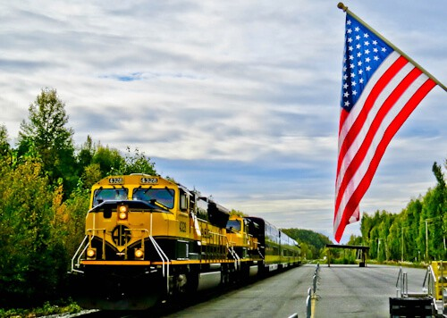 Princess Rail, Glass-Domed Rail Cars to Denali National Park