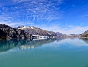 Glacier viewing and drive by in Alaska