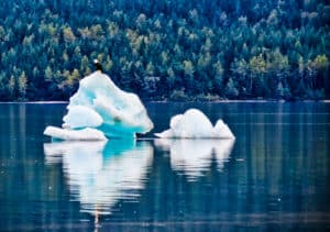 An Iceberg in Mendenhall Lake