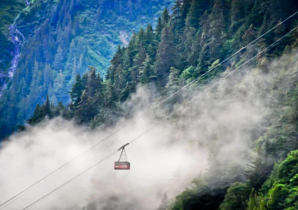 Cable Car to Mount Roberts Peak, Juneau