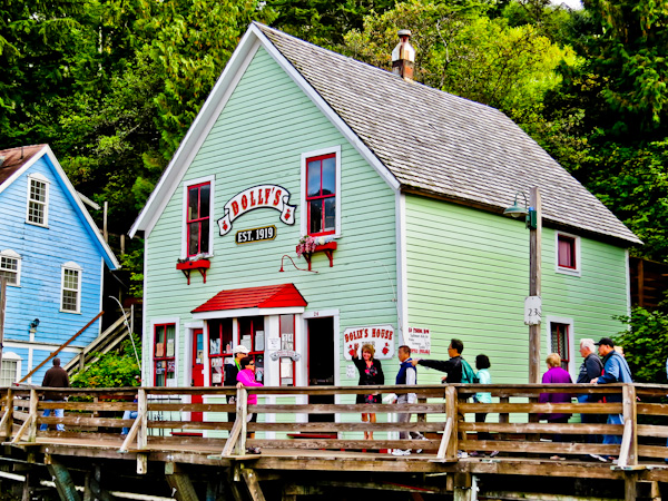 Dolly's House Museum, Ketchikan Alaska