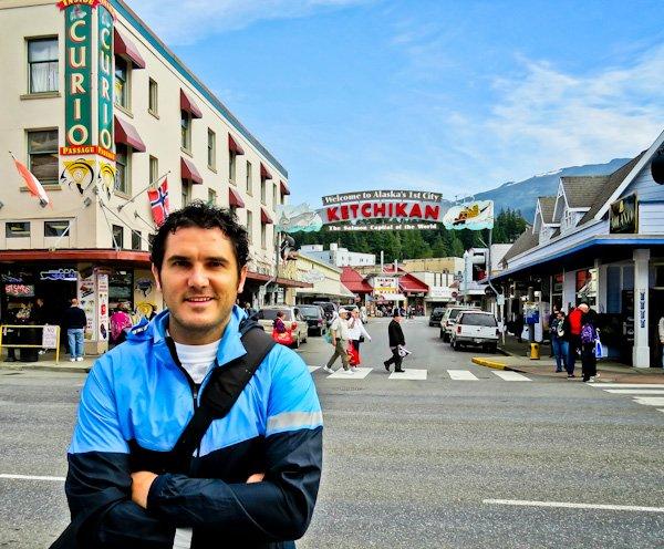 Ketchikan Sign - Main Street - Ketchikan Alaska