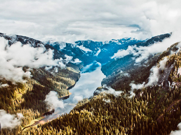 Day trips to Misty Fjords National Monument - Ketchikan Alaska