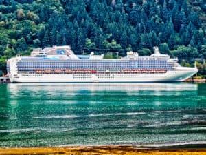 Princess Cruise from Ketchikan to Juneau