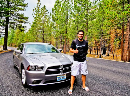 Hire car - Lassen Volcanic National Park to Crater Lake - 3-4 hours.