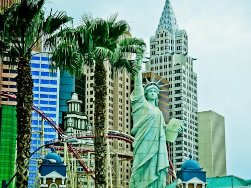 Las Vegas Landmarks - Statue of Liberty