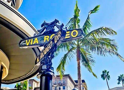Los Angeles Landmarks - Rodeo Drive
