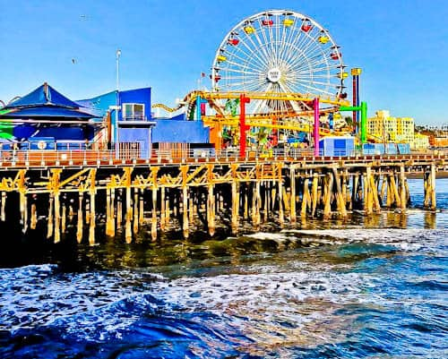 Los Angeles Landmarks - Santa Monica Pier