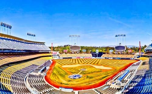 Los Angeles Landmarks - Dodger Stadium