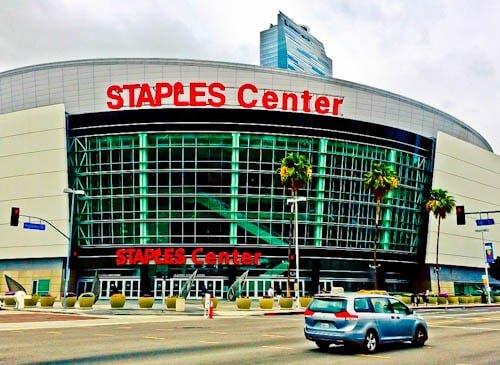 Los Angeles Landmarks - Staples Center
