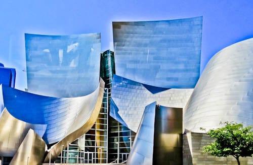 Los Angeles Landmarks - Walt Disney Concert Hall