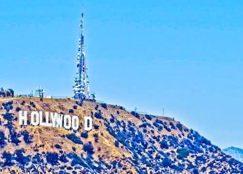 Los Angeles Landmarks - Hollywood Sign