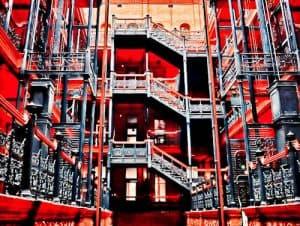 Los Angeles Landmarks - Bradbury Building