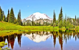 Mount Rainier Facts and Photography