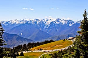 Hurrican Ridge Visitor Center, Olympic National Park, Washington