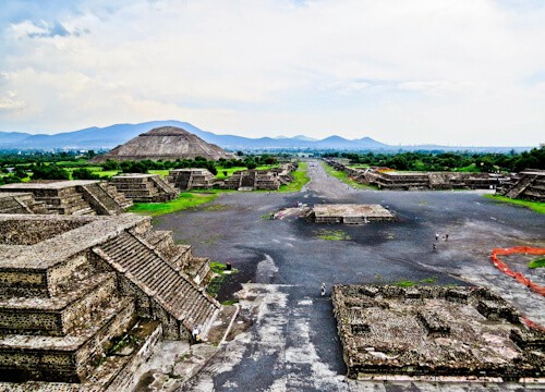 Day trip to Teotihuacan from Mexico City - Avenue of the Dead