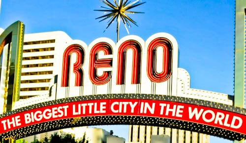 Things to do in Reno - Reno Sign
